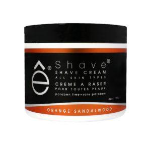 eShave Shave Cream Orange Sandalwood