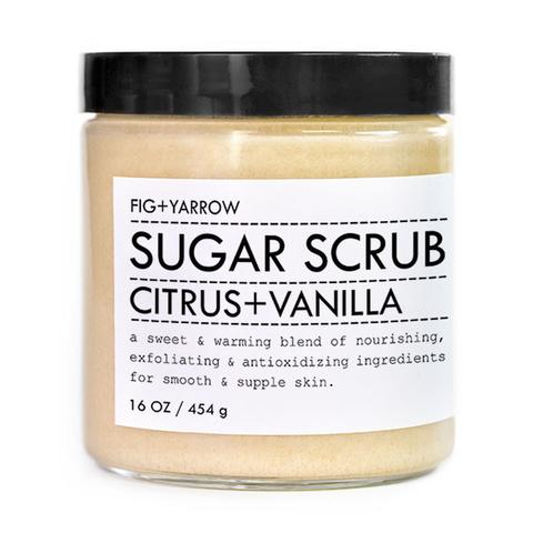 Fig + Yarrow Sugar Scrub Citurs + Vanilla